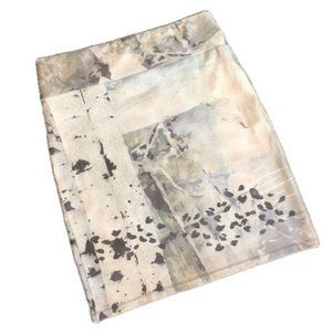 VOLT Design Faux Suede Skirt Stretch Camo NWT
